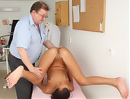 Evelyn  very experienced gyno vagina pussy spreader inspection