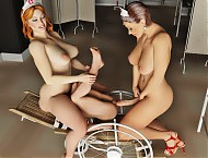 Tranny nurses use the patient to pleasure themselves sexually.