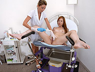 Foxy, 26 years. Exam with breasts and abdomen palpation, anal inspection, vaginal and anal ultrasound, two speculums, perineum checkup and vibrator.