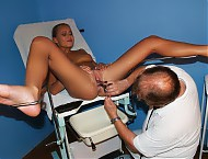 Valerie muff exploration at naughty gyno clinic