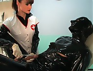 Lady Cheyenne de Muriel - Pervy Examination by the Nurse